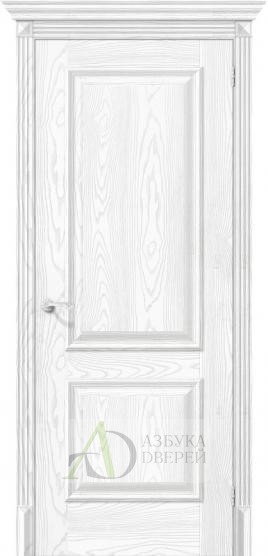 Межкомнатная дверь с экошпоном Классико-12 Silver Ash
