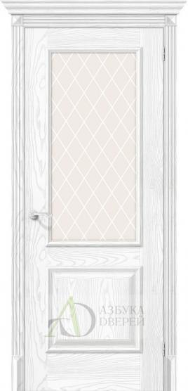 Межкомнатная дверь с экошпоном Классико-13 Silver Ash