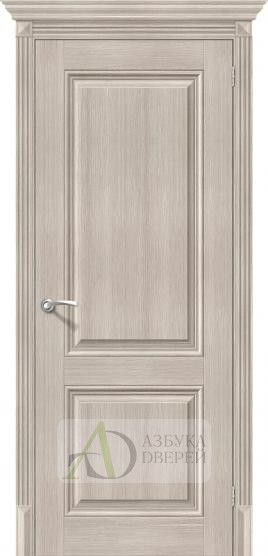 Межкомнатная дверь с экошпоном Классико-32 ПГ Cappuccino Veralinga