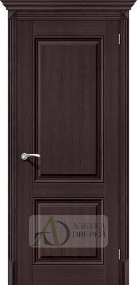 Межкомнатная дверь с экошпоном Классико-32 ПГ Wenge Veralinga