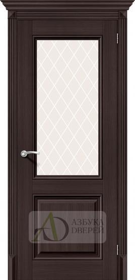 Межкомнатная дверь с экошпоном Классико-33 ПО Wenge Veralinga