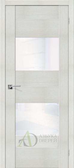 Межкомнатная дверь с Экошпоном VG2 Bianco Veralinga White Waltz