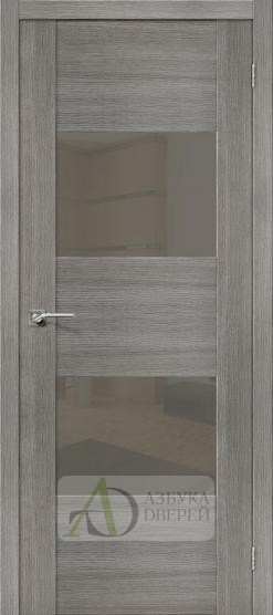 Межкомнатная дверь с Экошпоном VG2 Grey Veralinga