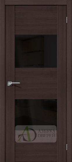 Межкомнатная дверь с Экошпоном VG2 Wenge Veralinga Black Star