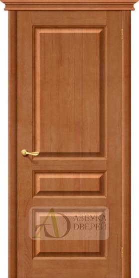 Межкомнатная дверь из Массива М5 ПГ светлый лак