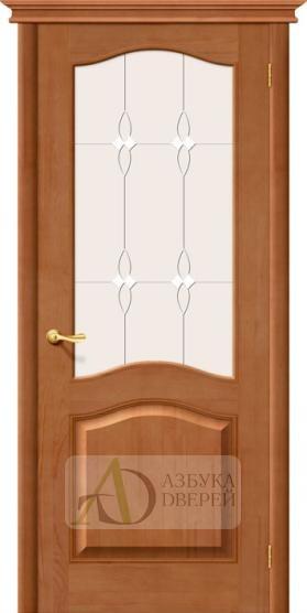 Межкомнатная дверь из массива М7 ПО светлый лак
