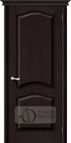 Межкомнатная дверь из массива М7 ПГ темный лак