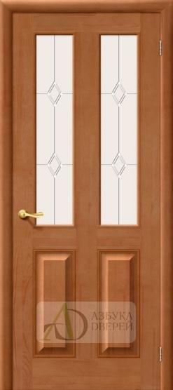 Межкомнатная дверь из массива М 15 ПО светлый лак