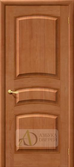 Межкомнатная дверь из массива М 16 ПГ Светлый лак
