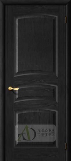 Межкомнатная дверь М 16 ПГ Венге. Массив
