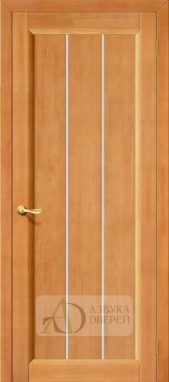 Межкомнатная дверь из массива Вега-19 ПО Светлый орех