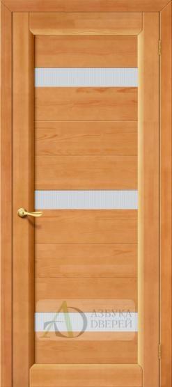 Межкомнатная дверь из массива Вега-2 ПЧО Светлый орех