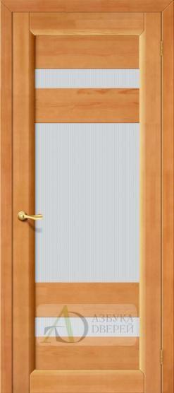 Межкомнатная дверь из массива Вега-2 ПО Светлый орех