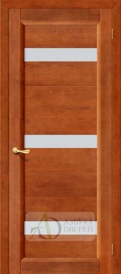 Межкомнатная дверь Вега-2 ПЧО Темный орех. Массив