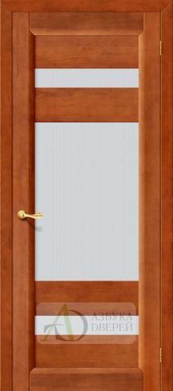 Межкомнатная дверь Вега-2 ПО  Темный орех. Массив