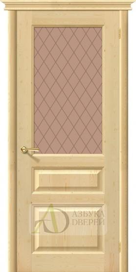 Межкомнатная дверь из Массива М5 ПО Без отделки