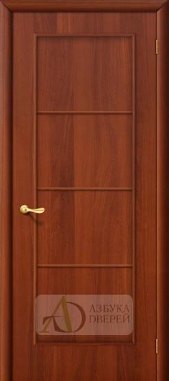 Межкомнатная ламинированная дверь 4Г10 ПГ итальянский орех