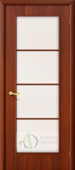 Межкомнатная ламинированная дверь 4С10 ПО итальянский орех
