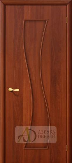 Межкомнатная ламинированная дверь Лиана ПГ итальянский орех