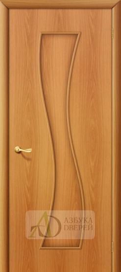 Межкомнатная ламинированная дверь Лиана ПГ миланский орех