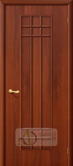 Межкомнатная ламинированная дверь Премиум ПГ итальянский орех