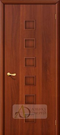 Межкомнатная ламинированная дверь 4Г1 ПГ итальянский орех