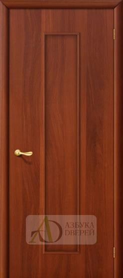 Межкомнатная ламинированная дверь Тиффани ПГ итальянский орех
