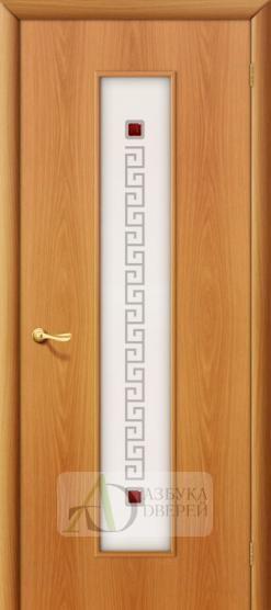 Межкомнатная ламинированная дверь Тиффани-1 ПО миланский орех