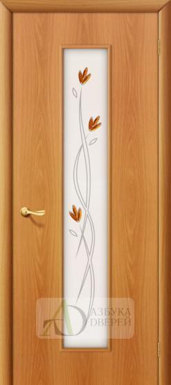 Межкомнатная ламинированная дверь Тиффани-2 ПО миланский орех