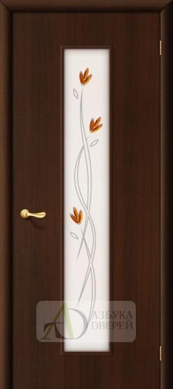 Межкомнатная ламинированная дверь Тиффани-2 ПО венге
