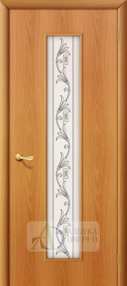 Межкомнатная ламинированная дверь Тиффани-4 ПО миланский орех