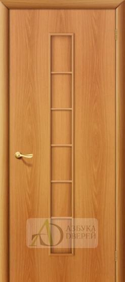 Межкомнатная ламинированная дверь 4Г2 ПГ миланский орех