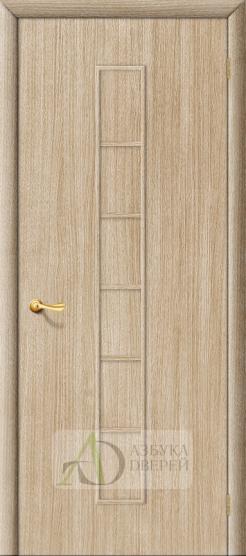 Межкомнатная ламинированная дверь 4Г2 ПГ беленый дуб