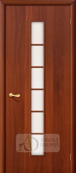 Межкомнатная ламинированная дверь 4С2 ПО итальянский орех