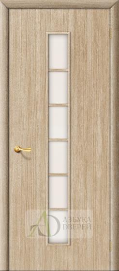 Межкомнатная ламинированная дверь 4С2 ПО беленый дуб