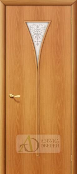 Межкомнатная ламинированная дверь 4С3х ПО миланский орех
