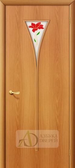 Межкомнатная ламинированная дверь 3П ПО Миланский орех