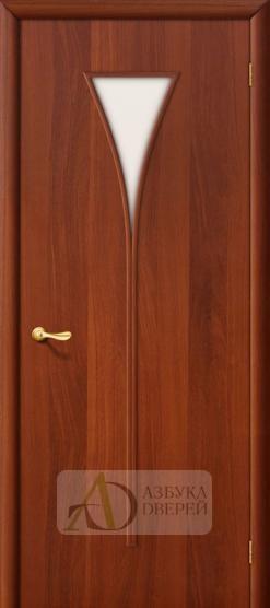 Межкомнатная ламинированная дверь 4С3 ПО итальянский орех
