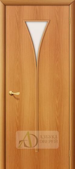 Межкомнатная ламинированная дверь 4С3 ПО миланский орех