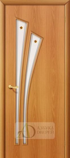 Межкомнатная ламинированная дверь 4С4ф ПО миланский орех