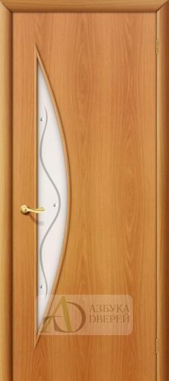 Межкомнатная ламинированная дверь 4С5ф ПО миланский орех