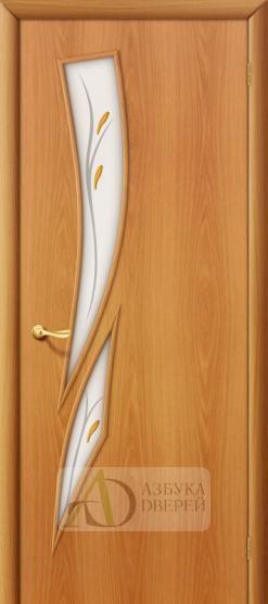 Межкомнатная ламинированная дверь 4С8ф ПО миланский орех