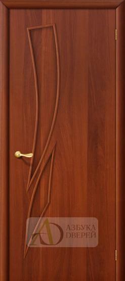 Межкомнатная ламинированная дверь 4Г8 ПГ итальянский орех