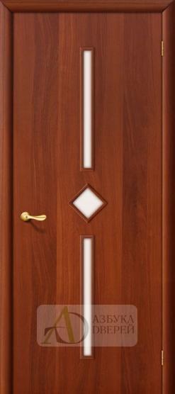 Межкомнатная ламинированная дверь 4С9 ПО итальянский орех