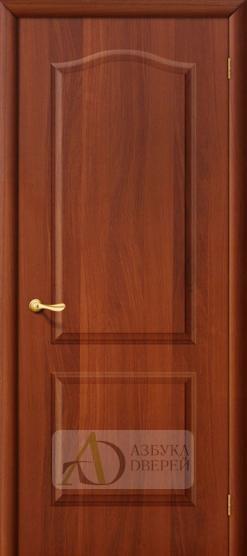 Межкомнатная ламинированная дверь Палитра ПГ итальянский орех