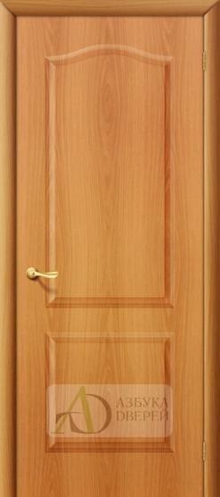 Межкомнатная ламинированная дверь Палитра ПГ миланский орех