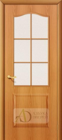 Межкомнатная ламинированная дверь Палитра ПО миланский орех