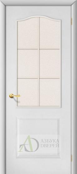 Белая межкомнатная дверь - Палитра ПО (ламинированная)