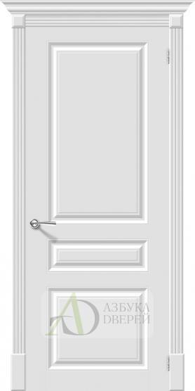 Межкомнатная эмалированная дверь Скинни-14 Whitey