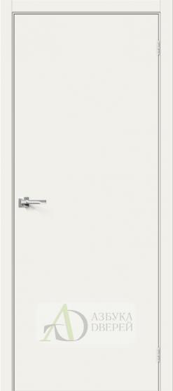 Межкомнатная эмалированная дверь Скинни-10 Whitey